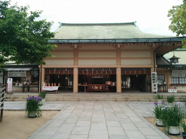 生國魂神社|大阪|実は凄い神社だったんだね!日本国土の守護神を祀る古社は、癒しの